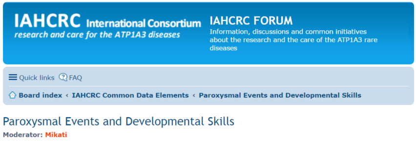 IAHCRC Forum - Discussion about the new CDEs presented by Mohamad Mikati